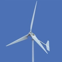 Horizontal wind turbine rated power 3kw max power 4kw