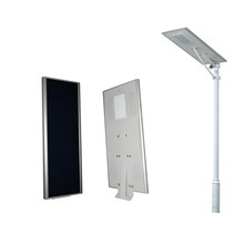 Solar powered battery backup led outdoor lighting with surveillance camera