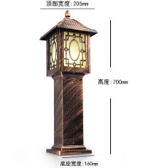 LED  Solar LAMP POST LIGHT
