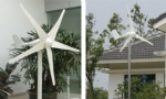 100W Small horizontal wind turbine rated power 100w max power 130w