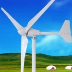 Horizontal wind turbine rated power 1500w max power 1800w